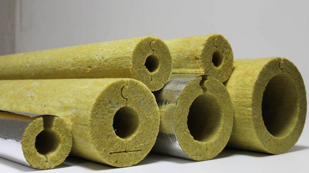 Цилиндр базальтовый фольгированный негорючий