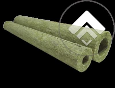 цилиндры из минеральной ваты покрытые армированной фольгой